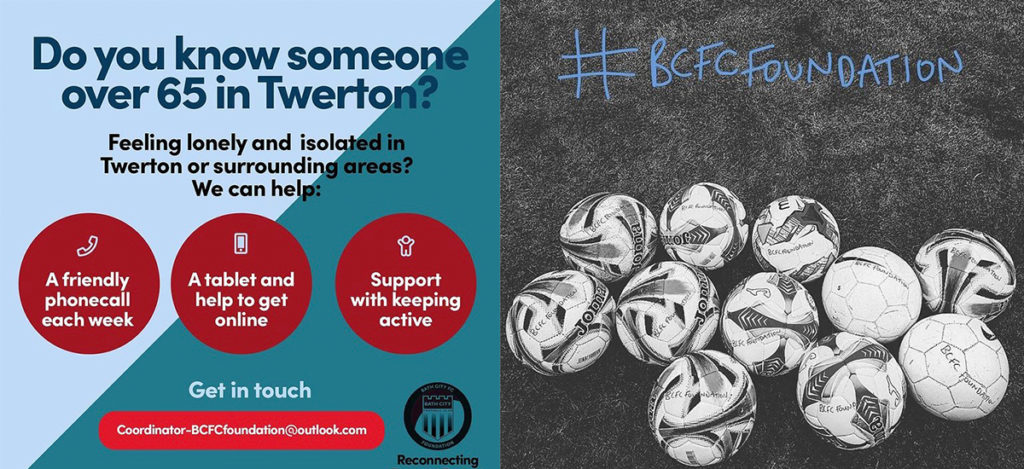 Libby Piggott – During the lockdown, Bath City Foundation has launched a community support giving campaign, Reconnecting Twerton.
