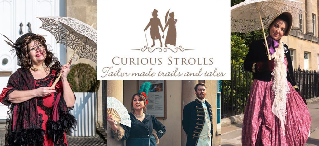 Curious Strolls Bath – Fay Greenhalgh and Alison Levy to Start a Unique Tour Guide Business Once Visitors Return to Bath.