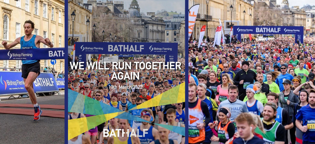 The Bath Half marathon, the city's largest charity fundraising event postponed for a second time running.