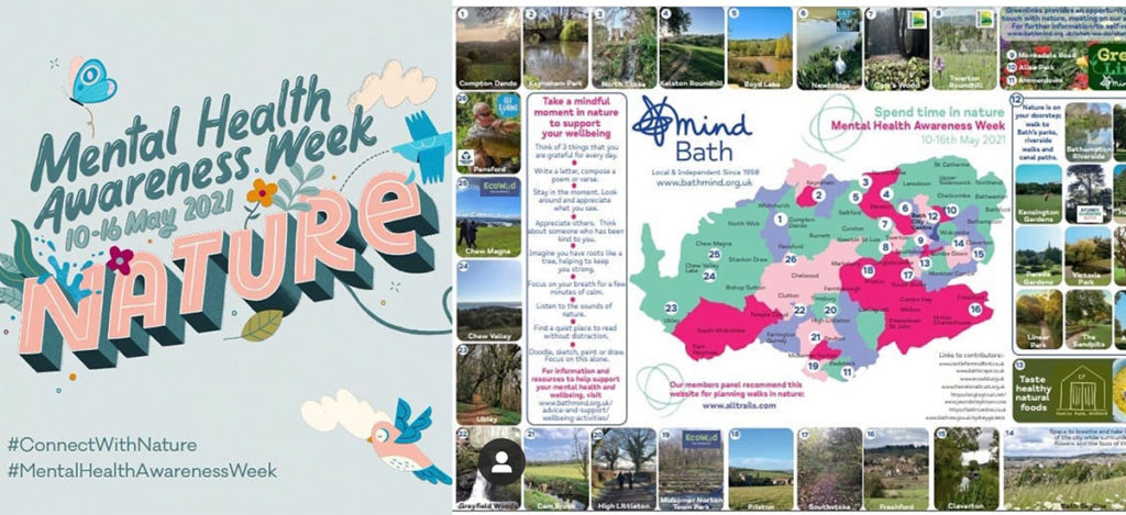 'Bathscape' have Teamed Up With Bath Mind To Provide Walks To Improve Mental Health.