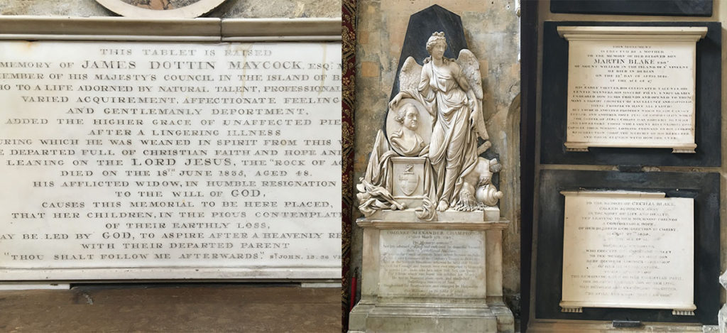 In response to the tragic murder of George Floyd, Bath Abbey had conducted in-depth research into their monuments, to further understand their colonial past. They have opened their 'Monuments, Empire and Slavery' exhibition to shed light on their findings.