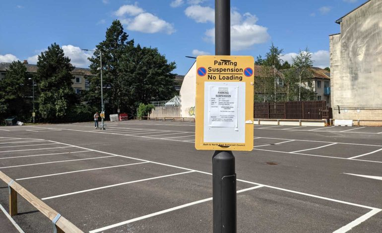 Car park to stay closed until next March despite sitting unused for months